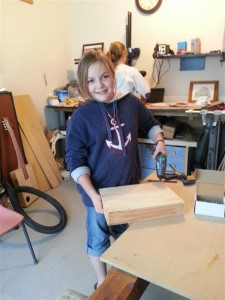 Young people can build a Box Bukey